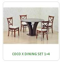 COCO X DINING SET 1+4